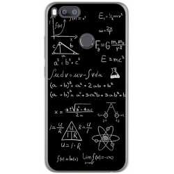 Funda Gel Tpu para Xiaomi Mi 5X / Mi A1 Diseño Formulas Dibujos