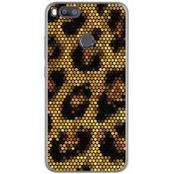 Funda Gel Tpu para Xiaomi Mi 5X / Mi A1 Diseño Leopardo Dibujos