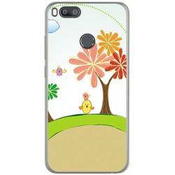 Funda Gel Tpu para Xiaomi Mi 5X / Mi A1 Diseño Primavera Dibujos