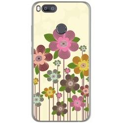 Funda Gel Tpu para Xiaomi Mi 5X / Mi A1 Diseño Primavera En Flor  Dibujos
