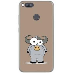 Funda Gel Tpu para Xiaomi Mi 5X / Mi A1 Diseño Toro Dibujos