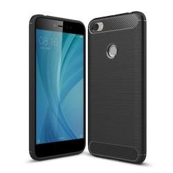 Funda Gel Tpu Tipo Carbon Negra para Xiaomi Redmi Note 5A Pro / 5A Prime