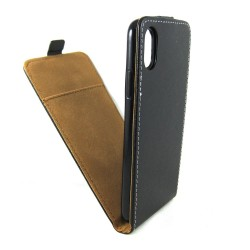 Funda Piel Premium Negra Ultra-Slim para Iphone X / Xs