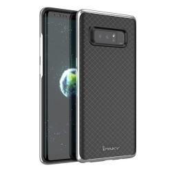 Funda Tipo Neo Hybrid (Pc+Tpu) Negra / Plata para Samsung Galaxy Note 8