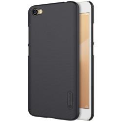 Carcasa Funda Negra Nillkin Modelo Frosted + Protector para Xiaomi Redmi Note 5A