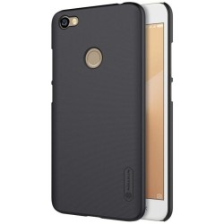 Carcasa Funda Negra Nillkin Modelo Frosted + Protector para Xiaomi Redmi Note 5A Pro / 5A Prime