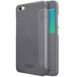 Funda Flip Negra Nillkin Modelo Sparkle para Xiaomi Redmi Note 5A