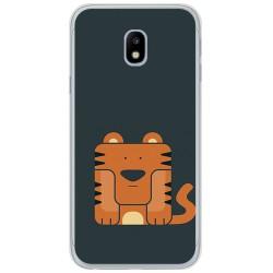 Funda Gel Tpu para Samsung Galaxy J3 (2017) Diseño Tigre Dibujos