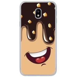 Funda Gel Tpu para Samsung Galaxy J3 (2017) Diseño Helado Chocolate Dibujos