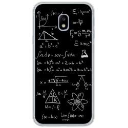 Funda Gel Tpu para Samsung Galaxy J3 (2017) Diseño Formulas Dibujos