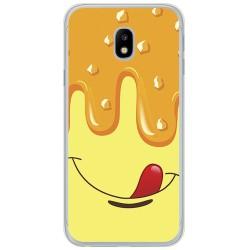 Funda Gel Tpu para Samsung Galaxy J3 (2017) Diseño Helado Vainilla Dibujos