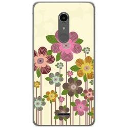 Funda Gel Tpu para Alcatel A3 XL Diseño Primavera En Flor  Dibujos