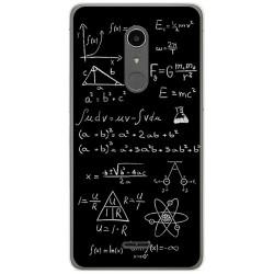 Funda Gel Tpu para Alcatel A3 XL Diseño Formulas Dibujos
