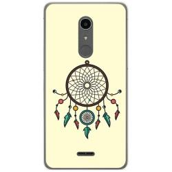 Funda Gel Tpu para Alcatel A3 XL Diseño Atrapasueños Dibujos