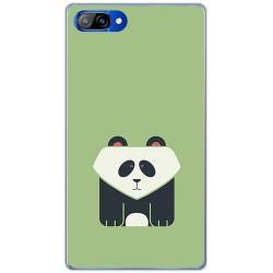 Funda Gel Tpu para Doogee Mix Diseño Panda Dibujos