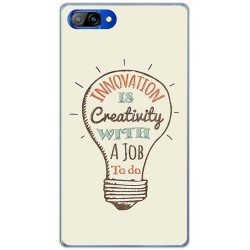 Funda Gel Tpu para Doogee Mix Diseño Creativity Dibujos