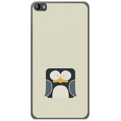 Funda Gel Tpu para Hisense L695 Diseño Pingüino Dibujos