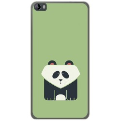 Funda Gel Tpu para Hisense L695 Diseño Panda Dibujos