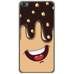 Funda Gel Tpu para Hisense L695 Diseño Helado Chocolate Dibujos