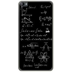 Funda Gel Tpu para Hisense L695 Diseño Formulas Dibujos