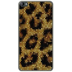 Funda Gel Tpu para Hisense L695 Diseño Leopardo Dibujos