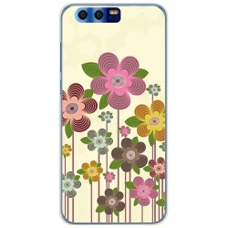 Funda Gel Tpu para Huawei Honor 9 Diseño Primavera En Flor Dibujos