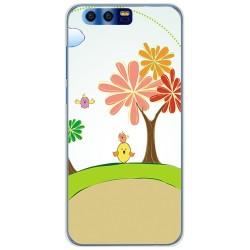 Funda Gel Tpu para Huawei Honor 9 Diseño Primavera Dibujos