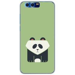 Funda Gel Tpu para Huawei Honor 9 Diseño Panda Dibujos