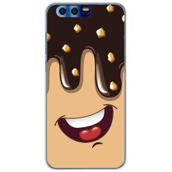 Funda Gel Tpu para Huawei Honor 9 Diseño Helado Chocolate Dibujos