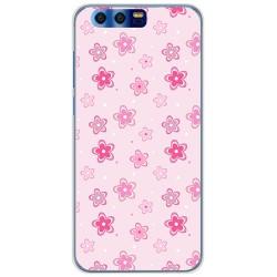 Funda Gel Tpu para Huawei Honor 9 Diseño Flores Dibujos