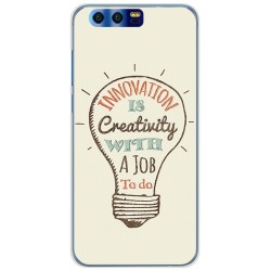 Funda Gel Tpu para Huawei Honor 9 Diseño Creativity Dibujos