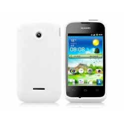 Funda Gel Tpu Huawei Ascend Y210 Color Blanca Mate
