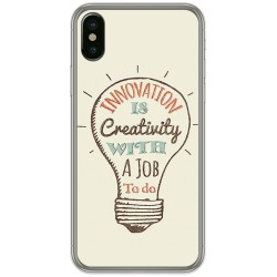 Funda Gel Tpu para Iphone X / XS Diseño Creativity Dibujos
