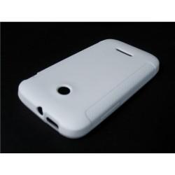 Funda Gel Tpu Huawei Ascend Y210 Color Blanca Mate