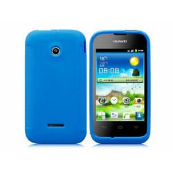 Funda Gel Tpu Huawei Ascend Y210 Color Azul Mate