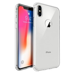 Funda Gel Tpu Fina Ultra-Thin 0,3mm Transparente para Iphone X / Xs