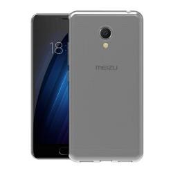 Funda Gel Tpu Fina Ultra-Thin 0,3mm Transparente para Meizu M5C