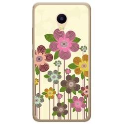 Funda Gel Tpu para Meizu M5C Diseño Primavera En Flor Dibujos