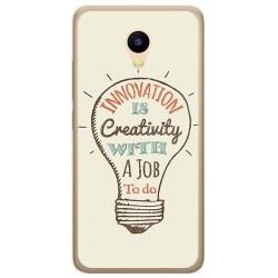 Funda Gel Tpu para Meizu M5C Diseño Creativity Dibujos
