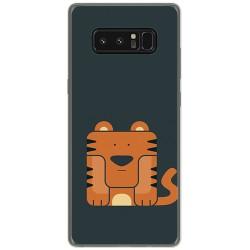 Funda Gel Tpu para Samsung Galaxy Note 8 Diseño Tigre Dibujos