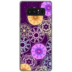 Funda Gel Tpu para Samsung Galaxy Note 8 Diseño Radial Dibujos