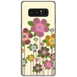 Funda Gel Tpu para Samsung Galaxy Note 8 Diseño Primavera En Flor  Dibujos
