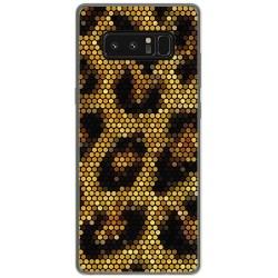 Funda Gel Tpu para Samsung Galaxy Note 8 Diseño Leopardo Dibujos
