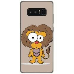Funda Gel Tpu para Samsung Galaxy Note 8 Diseño Leon Dibujos