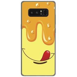 Funda Gel Tpu para Samsung Galaxy Note 8 Diseño Helado Vainilla Dibujos