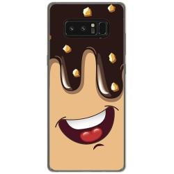 Funda Gel Tpu para Samsung Galaxy Note 8 Diseño Helado Chocolate Dibujos