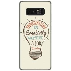 Funda Gel Tpu para Samsung Galaxy Note 8 Diseño Creativity Dibujos