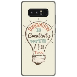 Funda Gel Tpu para Samsung Galaxy Note 8 Diseño Creativity Dibujos