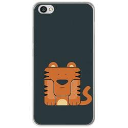 Funda Gel Tpu para Xiaomi Redmi Note 5A Diseño Tigre Dibujos