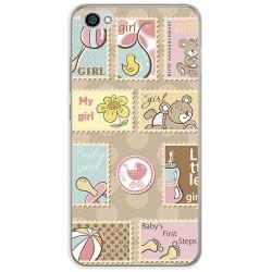 Funda Gel Tpu para Xiaomi Redmi Note 5A Diseño Sellos Dibujos
